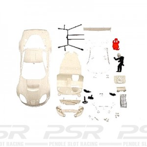 NSR Corvette C6R White Body Kit NSR-1389