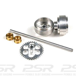 NSR Rear Axle Kit SW with Standard Wheels for Scalextric NSR-4002