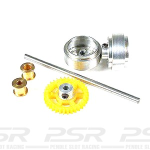 NSR Rear Axle Kit SW Standard Wheels for Proslot NSR-4004