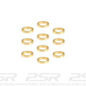 NSR Brass Axle Spacers 3/32 0.50mm