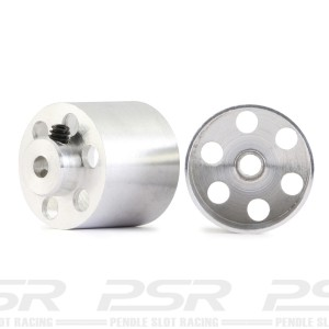 NSR Aluminium Wheels Rear For Sponge 17x14mm 1/24