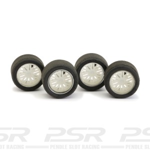NSR Wheel Inserts BBS White for Ø16 Wheels