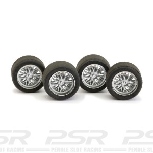NSR Wheel Inserts BBS Silver for Ø17 Wheels