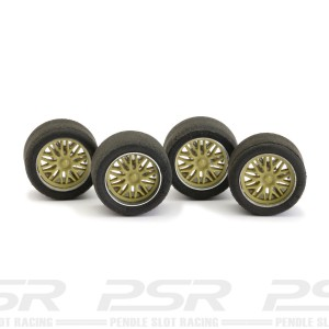 NSR Wheel Inserts BBS Gold for Ø16 Wheels