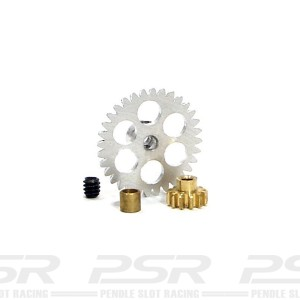 NSR Anglewinder 32/12t Gear Kit 17.5mm