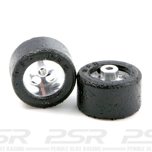 NSR Glued & Trued Rear Tyres 20x12mm Standard Wheels NSR-9008