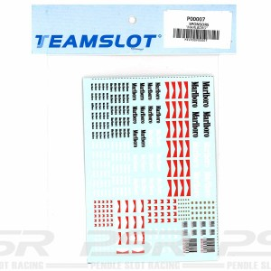 Team Slot Tobacco Logo 1 Decals