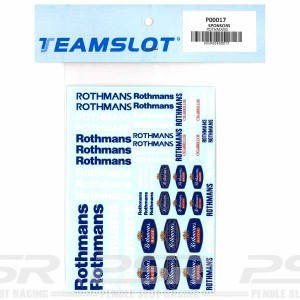 Team Slot Tobacco Logo 3 Decals