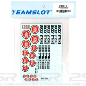 Team Slot Tobacco Logo 4 Decals