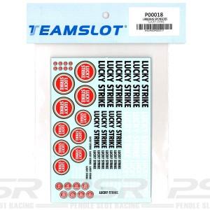 Team Slot Tobacco Logo 4 Decals