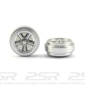 Pioneer American Racing Front Wheels Silver