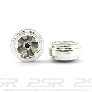 Pioneer American Racing Front Wheels Chrome/Grey