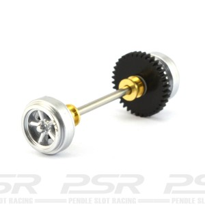 Pioneer Rear Axle Assembly Silver