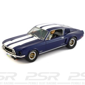 Pioneer Ford Mustang Fastback GT Midnight Blue - Route 66