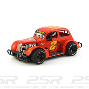 Pioneer Legends Racer '37 Chevy Sedan No.2 Red