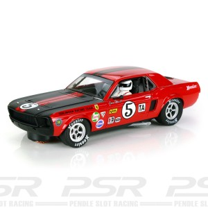 Pioneer Ford Mustang 1968 Trans-Am Red No.5 Jim West