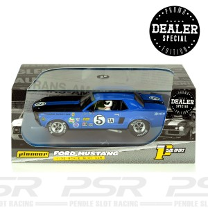Pioneer Ford Mustang 1968 Trans-Am Blue No.5 Dealer Special