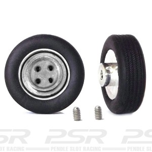 "PCS Classic 14"" Alloy Wheels & Tyres with Steel-A Inserts x2"