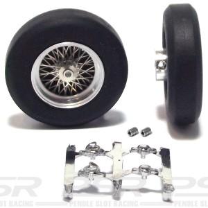 PCS Classic Spoke Alloy Wheels 24x6mm PCS-32246
