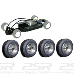 PCS 32 Complete Adjustable Chassis with Alloy Classic Spoke Wheels PCS-32M