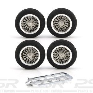 PCS Vintage 23'' Spokes Alloy Wheel Set-6