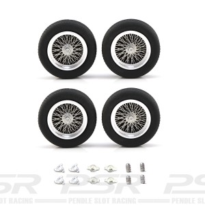 "PCS Classic 19"" Spoke Alloy Wheels & Tyres 23x7mm x4"