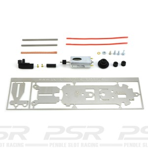 Penelope Pitlane SM1M Chassis Kit 74-89mm with Running Gear