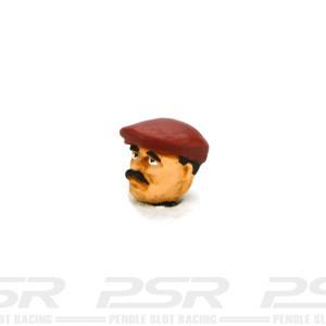Penelope Pitlane Civilian Driver Head 03