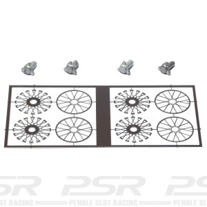 Penelope Pitlane Replica 48 Spoke Wheel Inserts PP-PEW02
