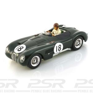 Penelope Pitlane Jaguar C-Type Le Mans 1953
