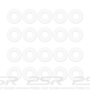 PSR Nylon Axle Spacers 20x2.5mm PSR-4