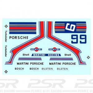 PSR 911 No.6 Martini Decals PSR-D27