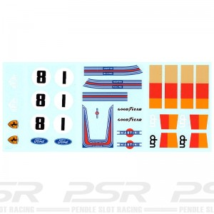 PSR Classic F1 Livery Decals