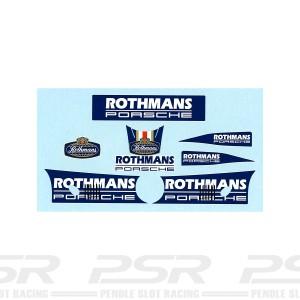 Slot.it Rothmans Porsche Decals