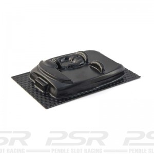 PSR Universal 2-Seater Sports Car Vac-Form Interior 1/32