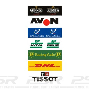 PSR Vinyl Stickers Track Logos E