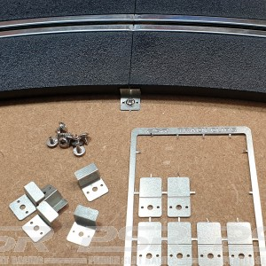 PSR Scalextric Track Fixing Clips