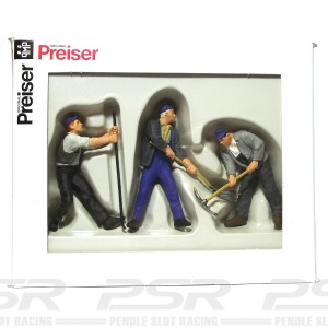 Preiser Track Workers Set-1 PZ-63056