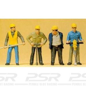 Preiser Track Workers Set-2 PZ-63065