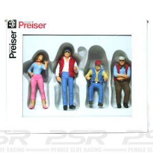 Preiser Truckers & Hitch Hiker Girl PZ-63071