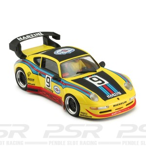 RevoSlot Porsche 911 GT2 No.9 Martini Yellow