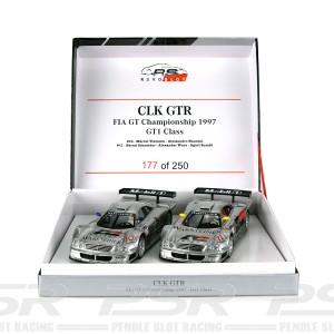 RevoSlot Mercedes CLK GTR Twin Pack