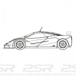 RevoSlot McLaren F1 GTR White Kit - Advance Information