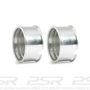 RevoSlot Front Aluminium Wheels Mercedes CLK GTR