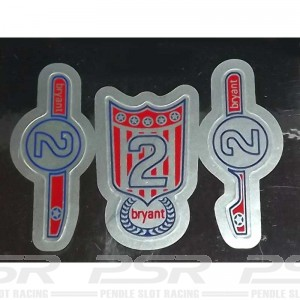 RUSC C80 Offenhauser Rear Engine No.2 Decals
