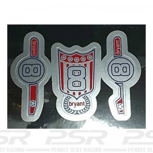 RUSC C80 Offenhauser Rear Engine No.8 Decals