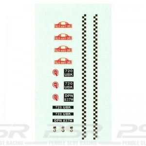 RUSC C7 Mini Decals