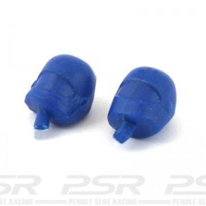 RUSC Motorcycle Heads Blue Pair