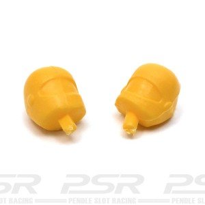 RUSC Motorcycle Heads Yellow Pair