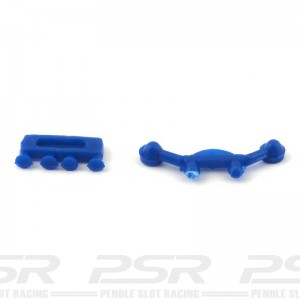RUSC C54 Lotus Mirrors & Carbs Blue